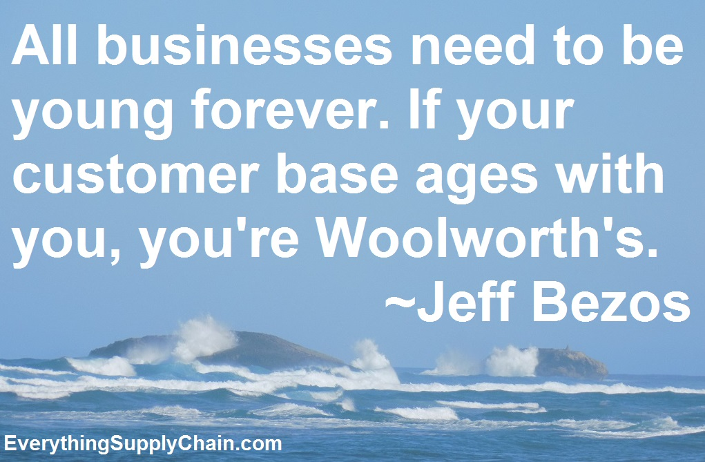 Jeff Bezos Supply Chain quotes woolworths