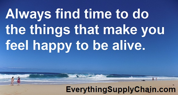 Feel happy be alive quote