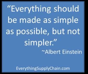 Albert Einstein simple quote