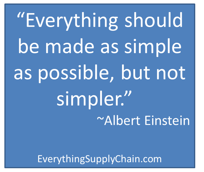 supply chain logistics quote