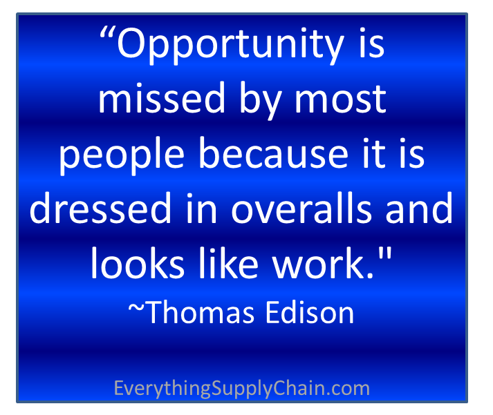 supply chain quote opportunity success