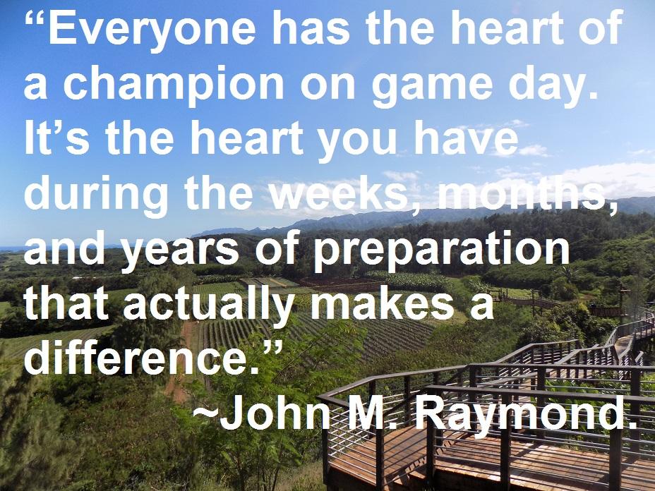 John M. Raymond quote