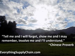 Supply Chain Chinese Proverb