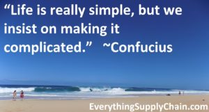 Supply Chain Confucious