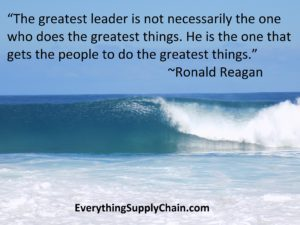 Supply Chain Ronald Reagan