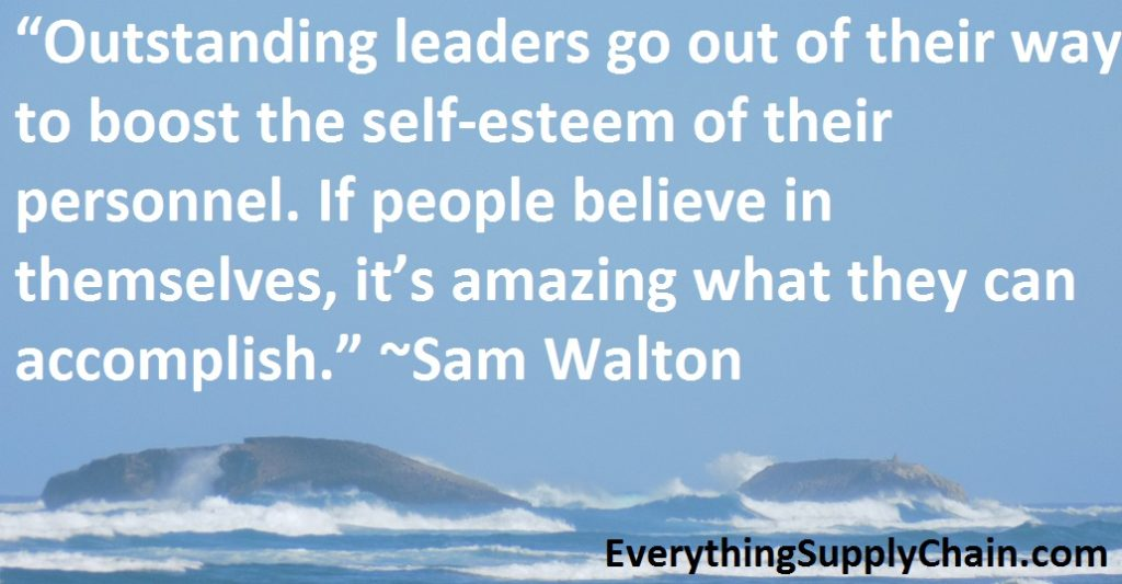 Supply Chain Sam Walton Quote
