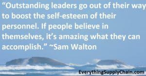 Supply Chain Sam Walton Quote