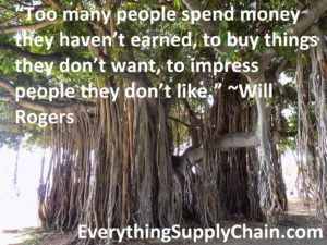 Supply Chain Will Rogers Quote