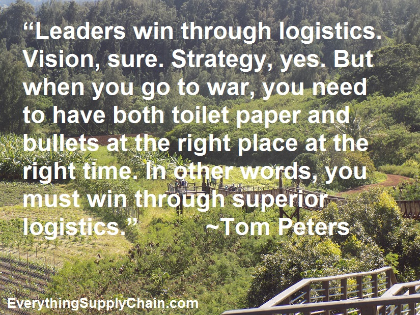 Tom Peters Supply Chain MBA