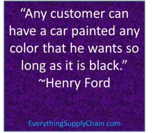 Henry Ford Quote on Model T