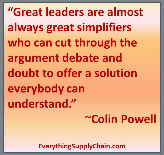 Supply Chain Quotes Sun Tzu Eli Goldratt Taiichi Ohno