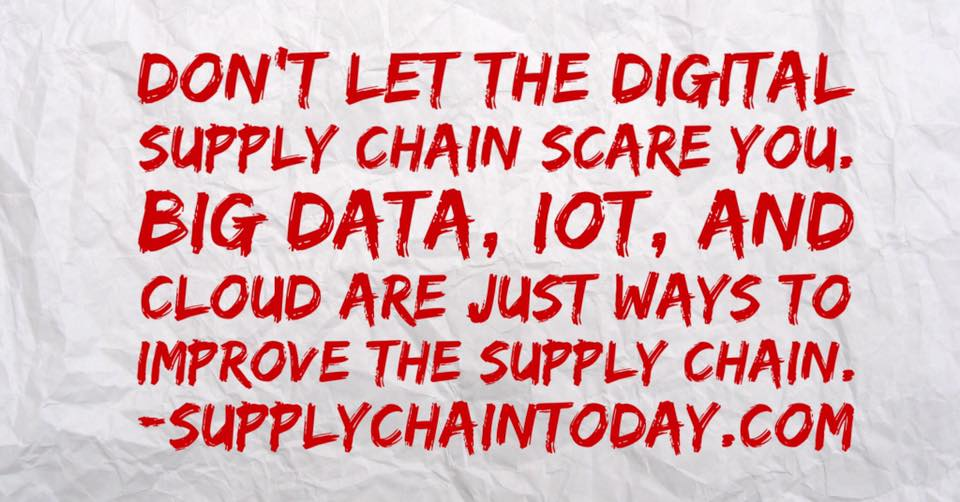 digital supply chain internet of everything