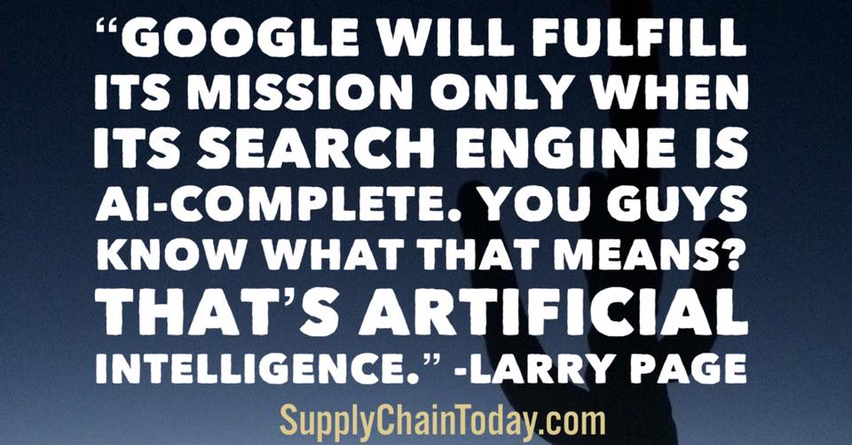 larry page google artificial intelligence