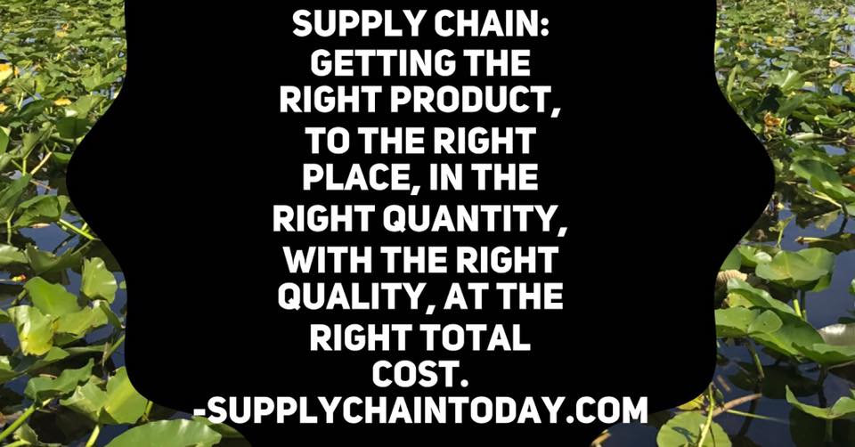 supply chain definition