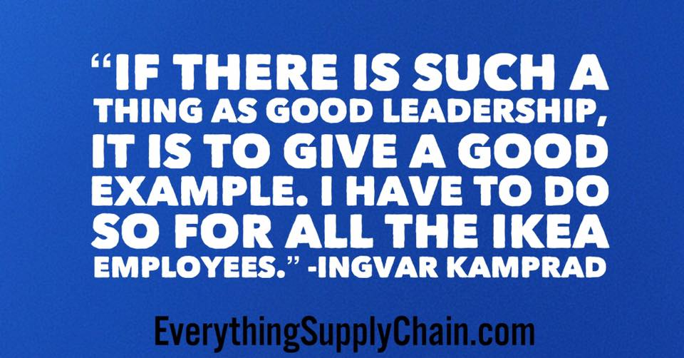 Ingvar Kamprad quotes IKEA CEO