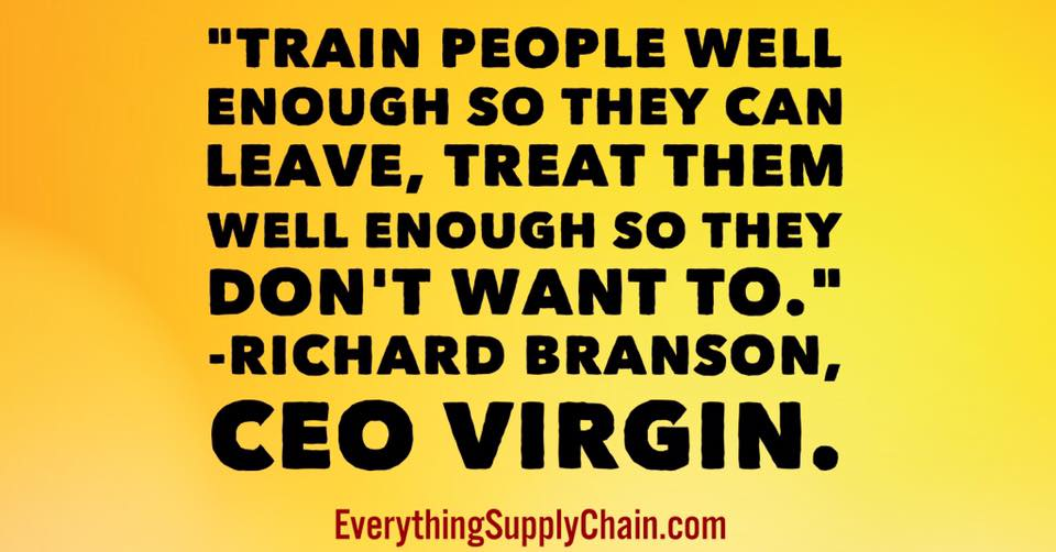 Richard Branson supply chain