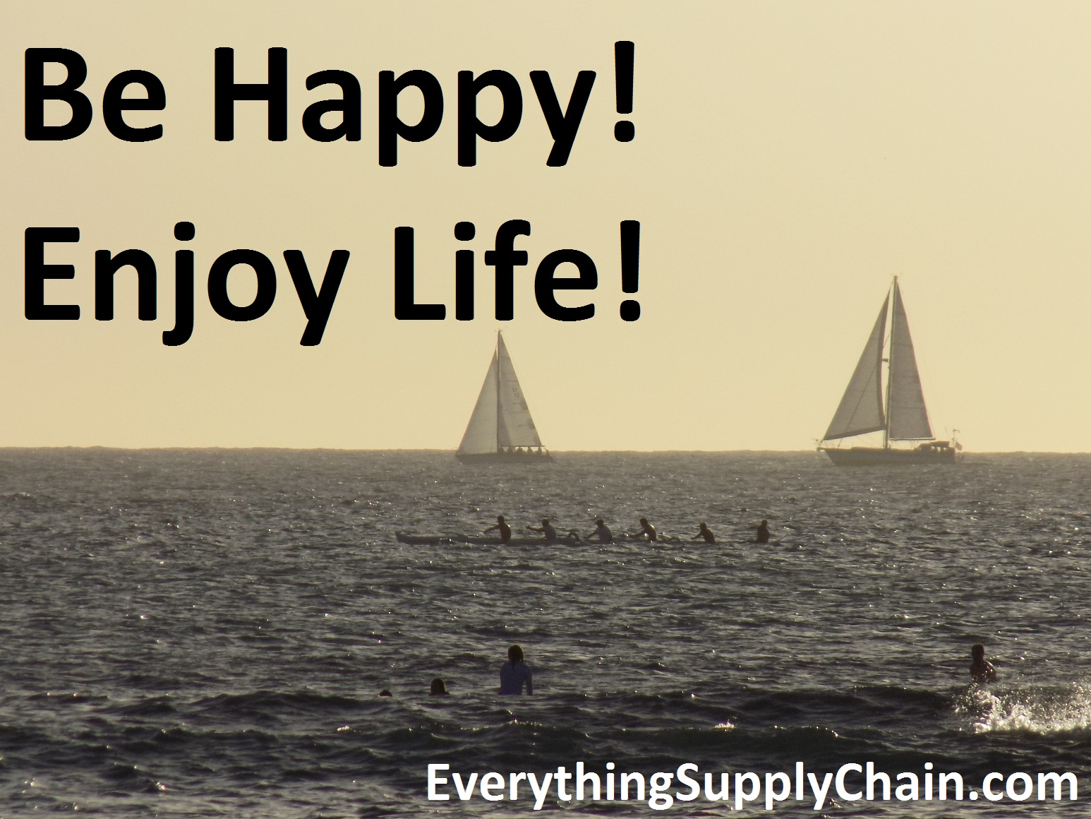Quotes About Enjoying Life Be Happy Make Your Life Great It Is About Attitude Everything Supply Chain