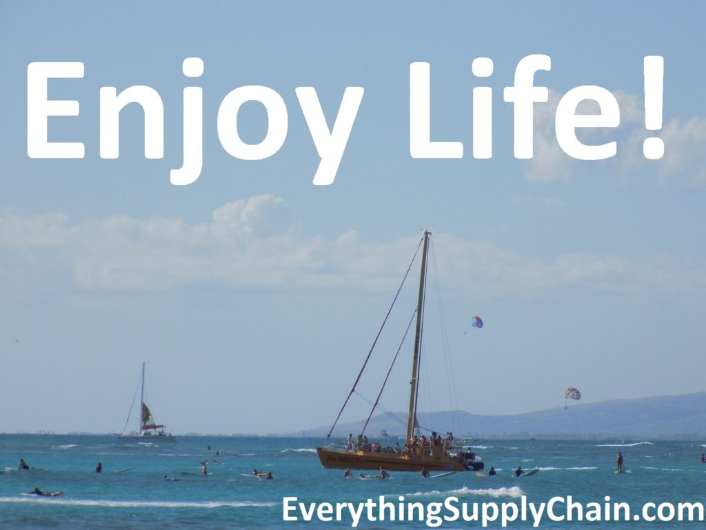 Supply Chain Enjoy Life