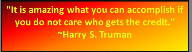 Harry Truman quote