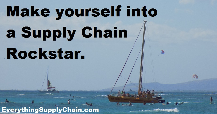 Supply Chain Rockstar quote