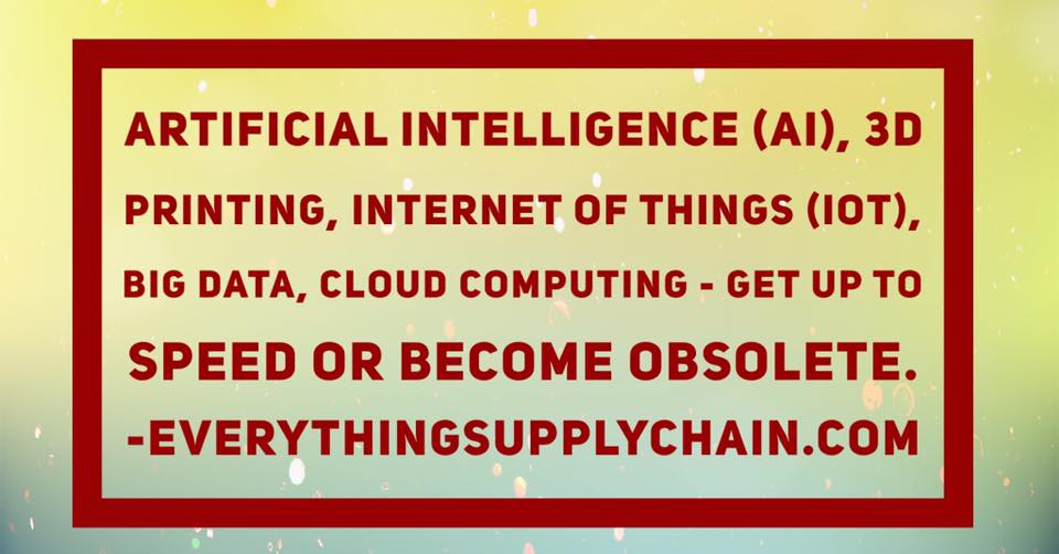 supply chain big data iot cloud