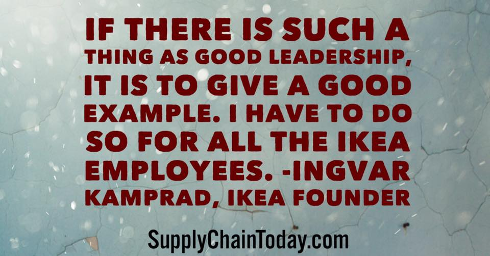 IKEa leadership speech
