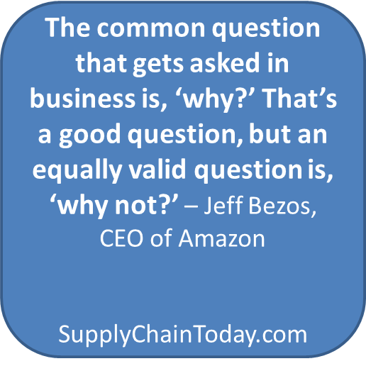 Jeff Bezos Amazon story supply chain
