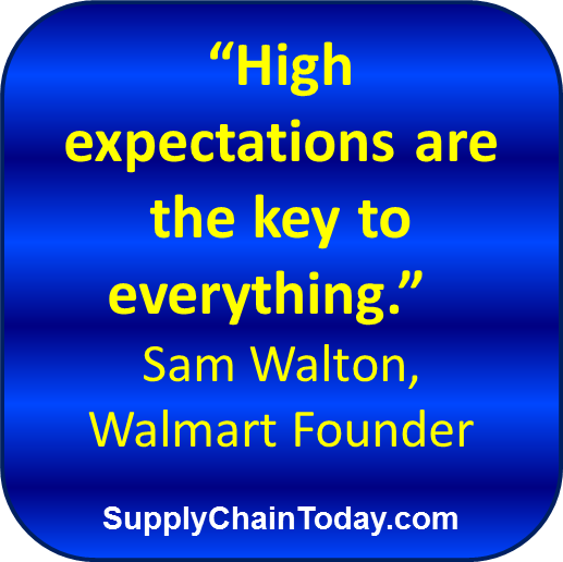 Sam Walton Walmart history supply chain