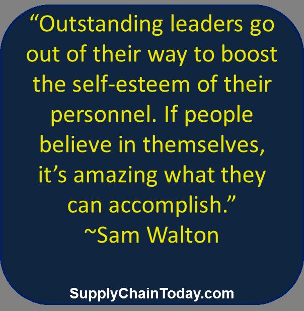supply chain Walmart Leadership