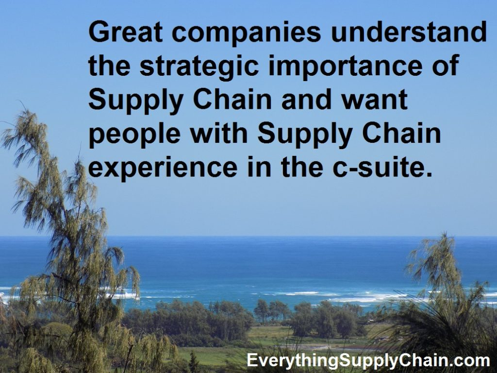 Supply Chain Strategic Importance