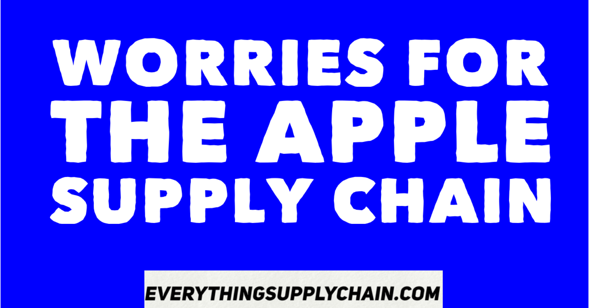 apple supply chain Apple has benefited from cheap labor and a strong supply chain in china and  needs to share more of its profit with the chinese people or face.