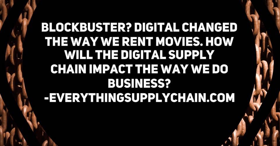 Digital Supply Chain Disruption