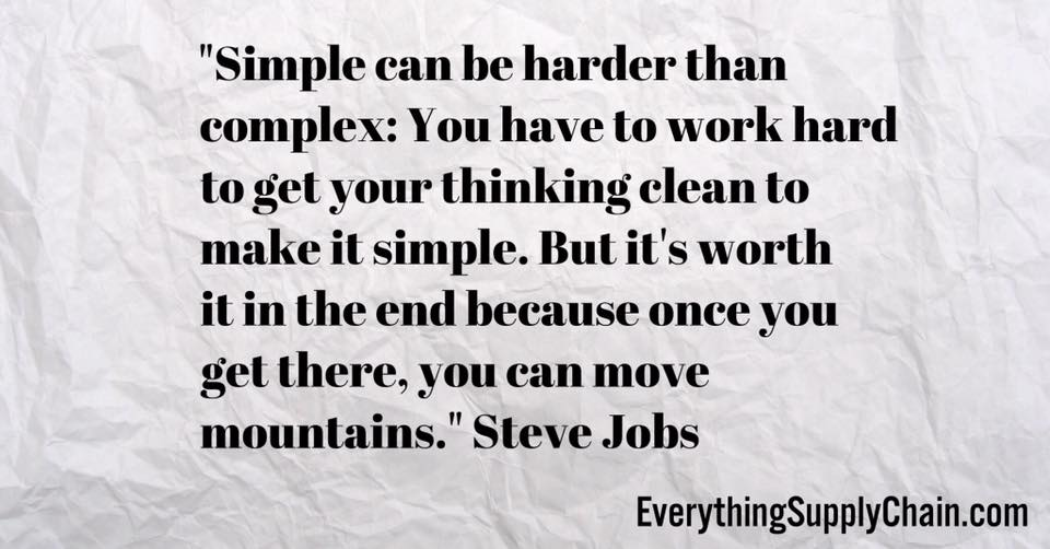 Steve Jobs supply chain ceo