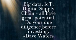 Supply Chain iot big data
