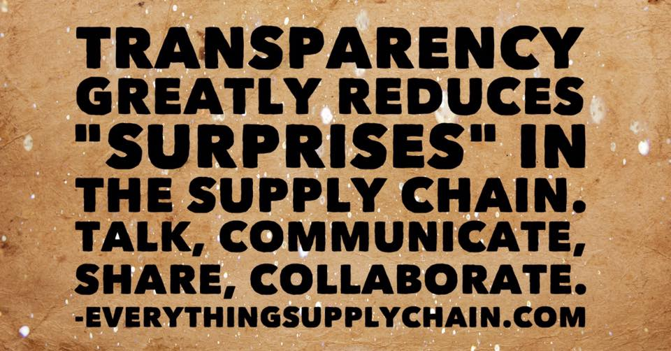 Quotes About Supply Chain