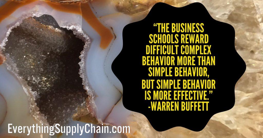 Supply Chain MBA