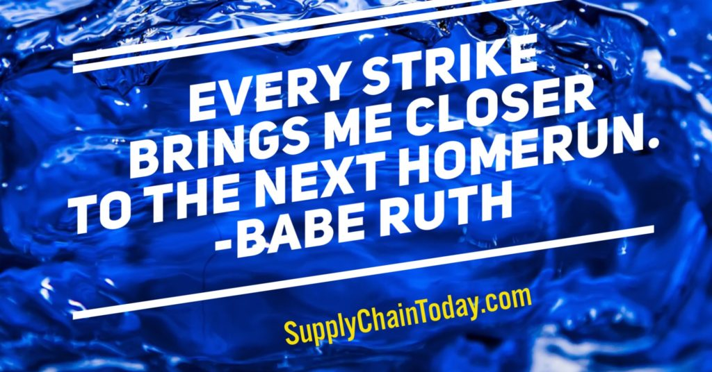 supply chain MBA homerun