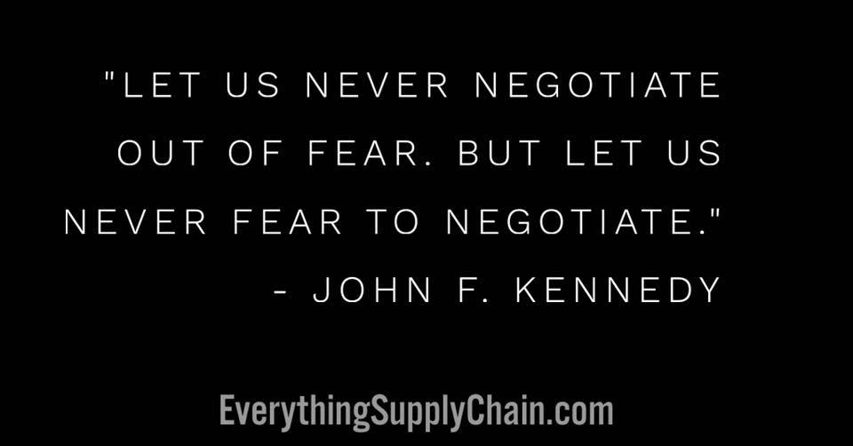 purchasing negotiation