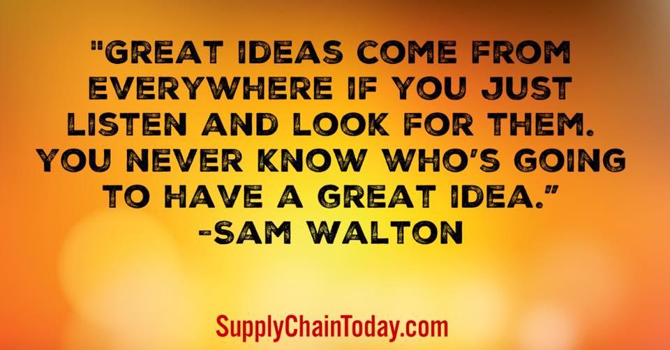 Quotes: Sam Walton, Jeff Bezos, Jack Ma, Ingvar kamprad