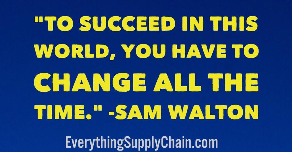 Walmart supply chain MBA