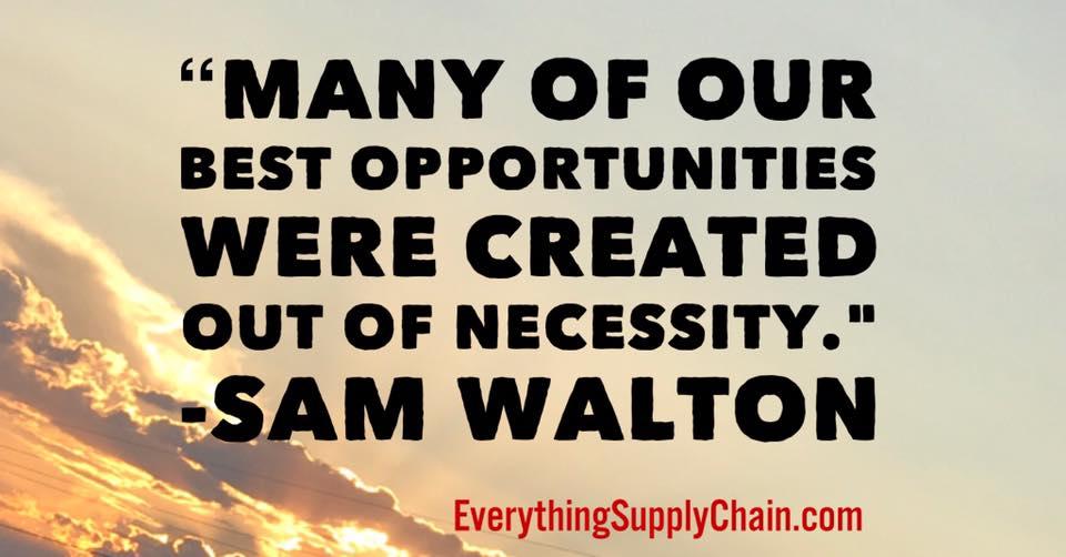 Walmart Amazon Alibaba supply chain