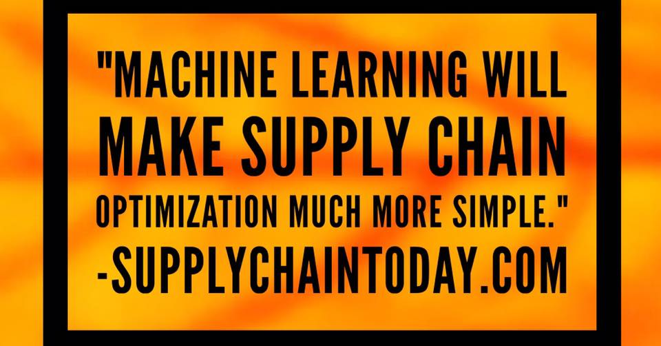 machine learning supply chain automation