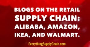 supply chain alibaba amazon ikea walmart