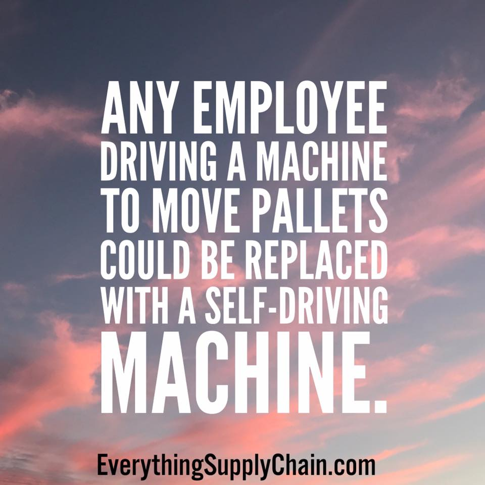 deep learning supply chain automation self driving vehicle