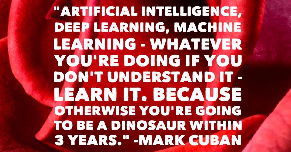 Mark Cuban artificial intelligence machine learning deep learning