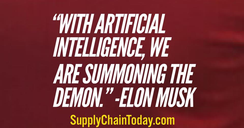 artificial intelligence elon musk quotes