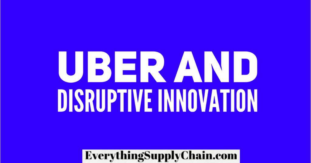 How Uber destroyed the NYC cab market - Disruptive Innovation -
